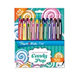 Paper Mate Flair Felt Tip Pens, Medium Point, Limited Edition Candy Pop Pack, 32 Count (1979425)