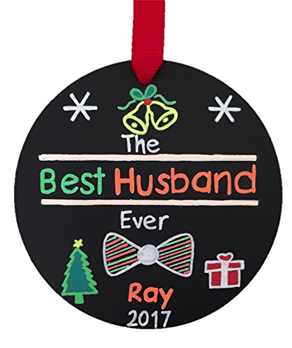 best husband ever ornament personalized ornament husband christmas ornament husband christmas gift - Best Christmas Gift For Husband