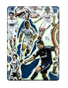 Awesome Case Cover/ipad Air Defender Case Cover(wallpaper Escudo Del Real Madrid )