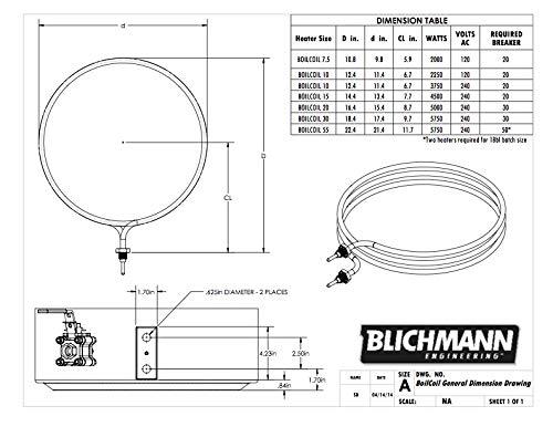 Blechmann BoilCoil 20 Gallon - 240V