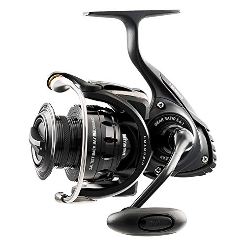 Daiwa, Saltist Back Bay Spinning Reel, 5.6:1 Gear Ratio, 7 Bearings, 33.20
