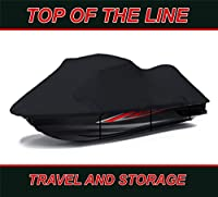 BLACK TOP OF THE LINE Polaris SL 780 Jet Ski PWC Cover Personal Watercraft Cover