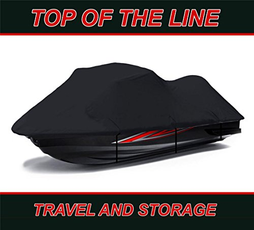 BLACK Sea Doo Sea-Doo Bombardier GTI Limited 155 2011 2012 2013 2014 2015 2016 2017 Jet Ski PWC Watercraft Cover by StopByUs