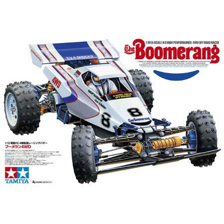 Tamiya 58418 1/10 RC Boomerang 4WD Buggy Kit (2008)