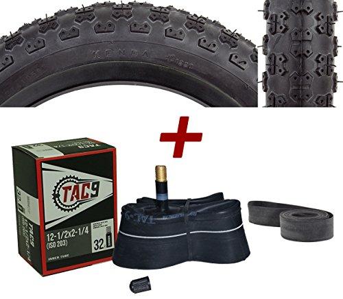 20' Wheel Tube - BMX Black Tire - 12-1/2