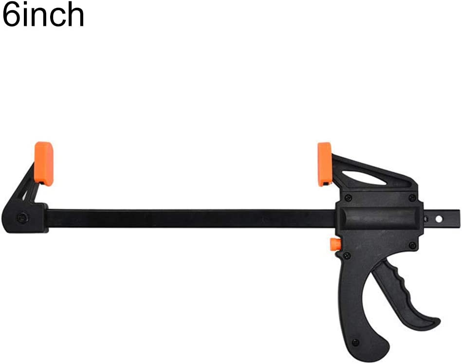 dna18729nd 4//6//8//12//18////24//30inch Durable Quick Ratchet Release Woodworking Bar F Clamp Hand Tool 18Inch