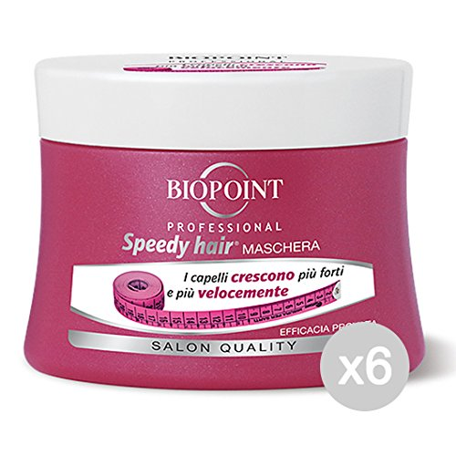 Set of 6 BIOPOINT Speedy Hair Mask 250 ml pot with R pv02417 Product for Hair