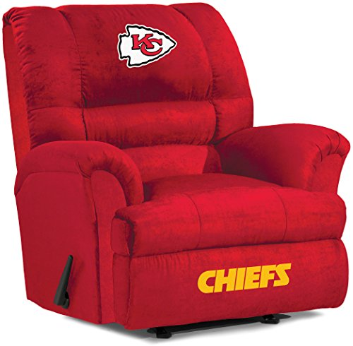 Kansas City Chiefs Recliner Chiefs Leather Recliner