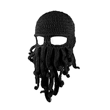 Amosfun Neuheit handgemachte lustige Octopus Hut Halloween Kostüme ...