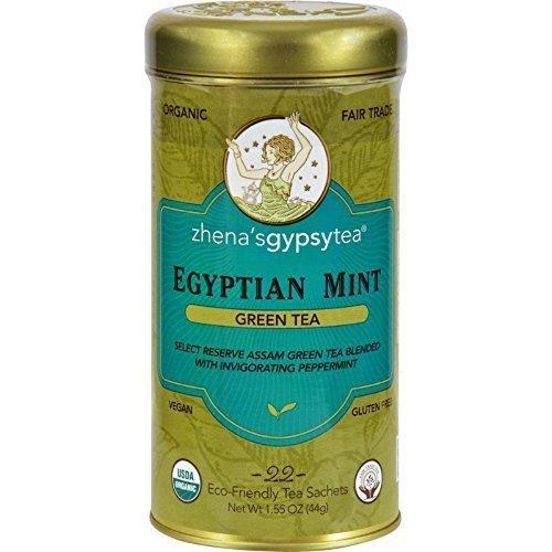 Zhena'S Gypsy Tea Tea Og2 Egyptian Mint 22 Bag