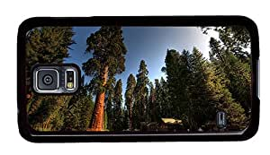 Sale water proof Samsung i9600 cases A village in forest houses trees PC Black for Samsung S5,Samsung Galaxy S5,Samsung i9600