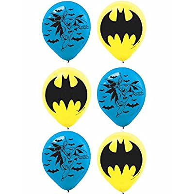 Batman Printed Latex Balloons, Party Favor: Kitchen & Dining