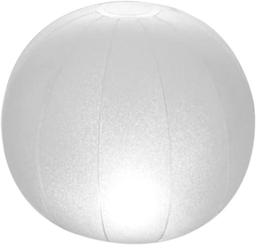 Intex 28693 - Lámpara LED flotante para piscinas & forma redonda 23 x 22 cm: Amazon.es: Jardín