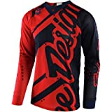 Troy Lee Designs SE Air Shadow Men's Off-Road Motorcycle Jersey - Red/Navy / Medium