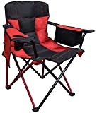 Caravan Sports EQC01031 Elite Quad Chair, Cherry Red