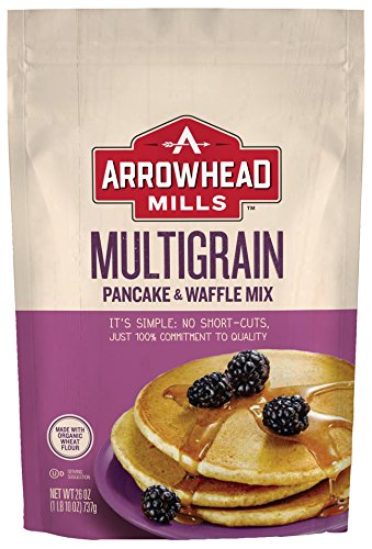 - Arrowhead Mills Multigrain Pancake and Waffle Mix, 26 oz. Bag (Pack of 6)