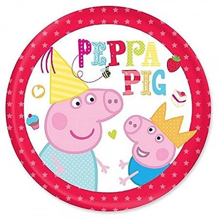 Peppa Pig personaliseitonline precortado con forma de tarta ...