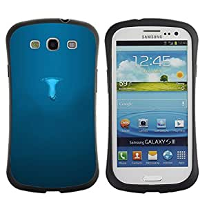 "Pulsar iFace Series Tpu silicona Carcasa Funda Case para SAMSUNG Galaxy S3 III / i9300 / i747 , Minimalista Mushroom Significado Profundo"""