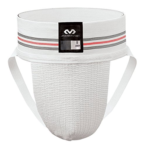 McDavid 3110 Classic Two Pack Athletic Supporter, White, ()