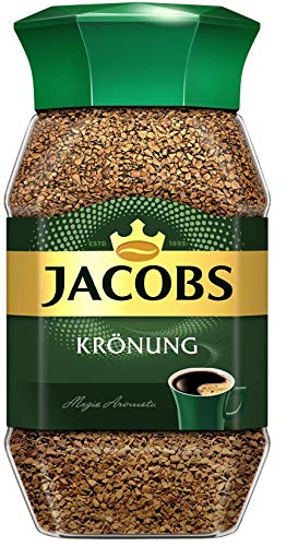 Jacobs Kronung Instant Coffee 200 Gram / 7.05 Ounce (Pack of 1)