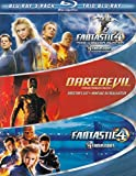 Marvel Three-Pack (Fantastic Four: Rise of the Silver Surfer / Daredevil / Fantastic Four) [Blu-ray]
