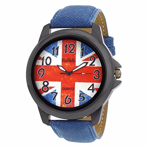 Relish Blue Denim Style Analog Watches for Men - RELISH-507