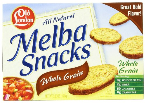 Old London Whole Grain Rounds, 5.25-Ounce Boxes (Pack of 12) - Old London Whole Grain
