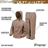FROGG TOGGS Men's Ultra-Lite2 Waterproof Breathable Protective Rain Suit, Khaki, Large