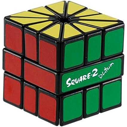 amazon com black square 2 cube by calvin s puzzle toys games