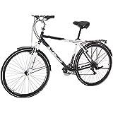 """Tour de Cure 62720 Men's Hybrid Bike, 700c, Black, 20.25""""/One Size"""