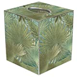 "Tissue Box Cover Tissue Holder Square Cube Beach Bathroom Decor Beach House Decor Coastal Decor Beach Themed Bedroom 5"" x 5"" Cube Fits Most"
