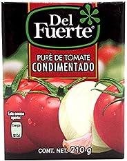 del Fuerte, del Fuerte Pure Tomate Brick 210 Gr, 210 gramos
