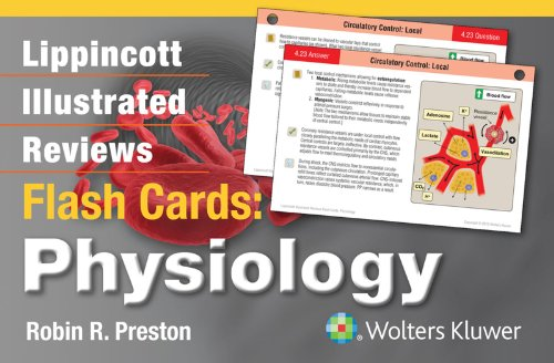 Lippincott Illustrated Reviews Flash Cards Physiology (1st 2014) [Preston]