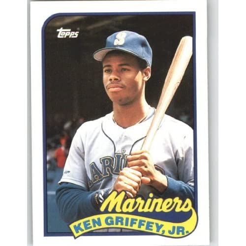 Lot Of 5 Rookie Baseball Cards With Ken Griffey Jr 1989: Ken Griffey Jr Rookie Cards: Amazon.com