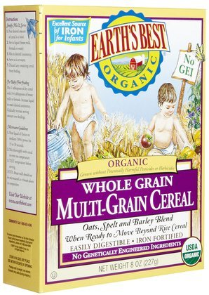 Earth's Best Multi Grain Cereal - 8 oz (Quantity of 5)