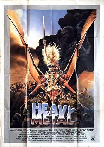 Metal Hurlant Heavy Metal 1981 Gerald Potterton 100x140 Cm Original Cinema Poster Amazon Co Uk Kitchen Home