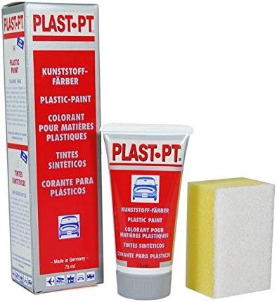 PLAST-PT Tinte para Vinilo/plásticos/Parachoques Negro