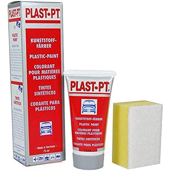 PLAST-PT Tinte para Vinilo/plásticos/Parachoques Negro ...