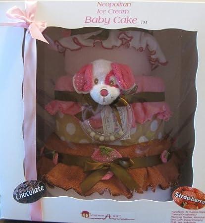 Amazon.com : Neopolitan bebé Pastel de pañales Set de regalo, Ice ...