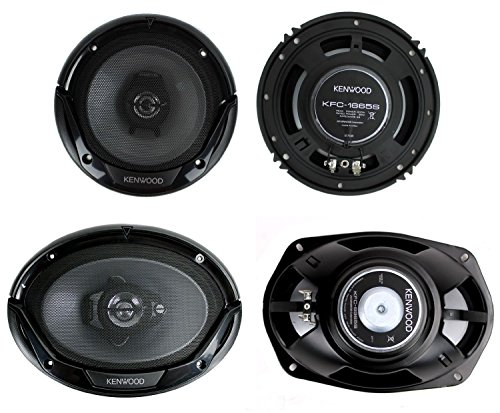 Kenwood 6x9 3way Speakers - 2