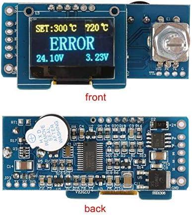 ZT-TTHG はんだステーション、T12デジタルはんだステーションOLEDディスプレイ・コントロール・ボードのSTCコントローラーキット