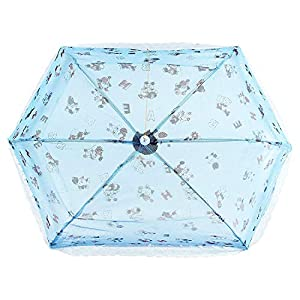 Yashika Umbrella Style Full Cover up for 0 to 3 Year Baby Blue Mosquito Net for Baby_New Born_Infants