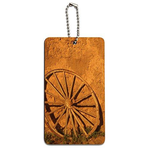 western-wagon-wheel-fort-union-southwest-new-mexico-wood-id-tag-luggage-card