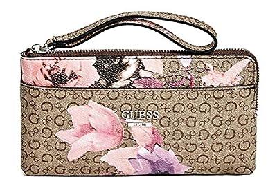 GUESS Women's Ashville Wristlet Clutch Bag