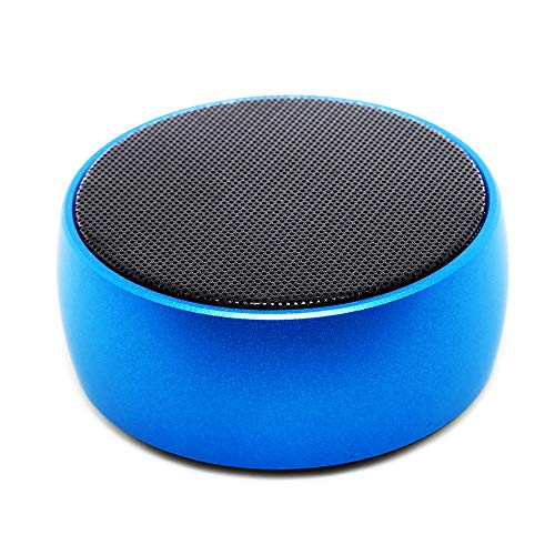 BLUETOOTH SPEAKER Q8, Bluetooth Speaker with 9 Hour Playtime, 39-Foot Bluetooth Range Dual-Driver Portable Wireless Speaker with Low Harmonic Distortion and Superior Sound-Blue ...
