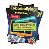 Didax Educational Resources 7085 Lower Bullying Cyber Posters
