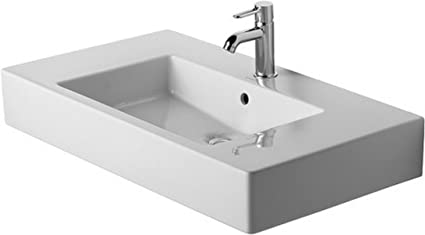 O Duravit 03298500871 85cm Vero Furniture Wash Basin White