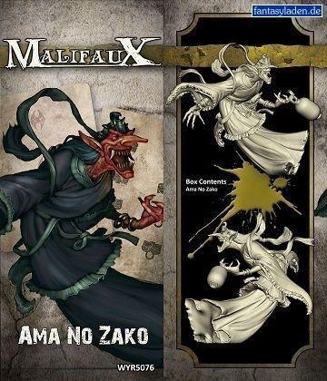 Malifaux: Outcasts - Ama No Zako by Wyrd Miniatures