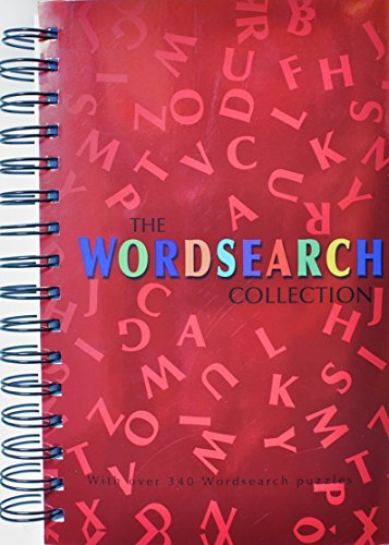 Wordsearch Collection (Spiral Crosswords) by Parragon Books -