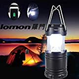 HP95 LED Portable USB Solar Rechargeable Lantern Outdoor Camping Hiking Lamp Light